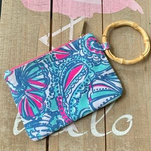 Lilly Pulitzer For Target Bamboo Wristlet